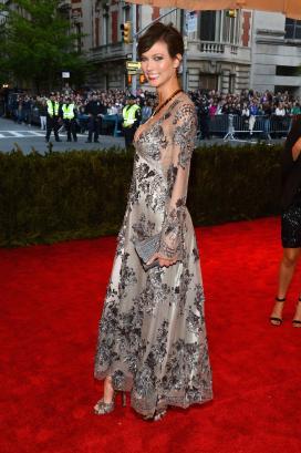 Karlie Kloss in Louis Vuitton - MET Gala 2013
