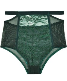 Lonely Sabel Green High Waist Brief