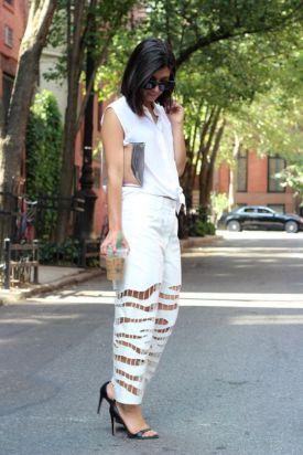 Krystal Bick all white