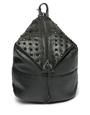 Bank Fashion Studded Backpack