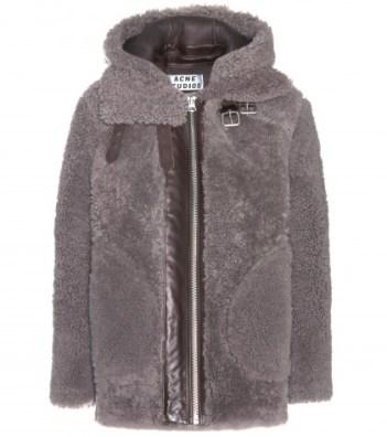 ACNE Studios Velocite reversed shearling jacket