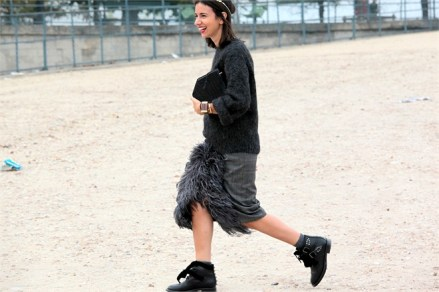 Natasha Goldenberg - Best of Paris Street Style | The Fashion Medley