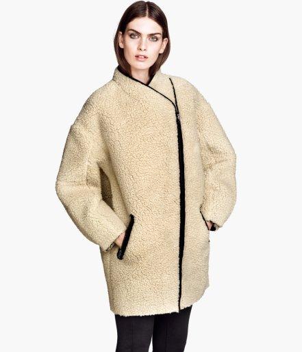 H&M imitation sheepskin Short coat