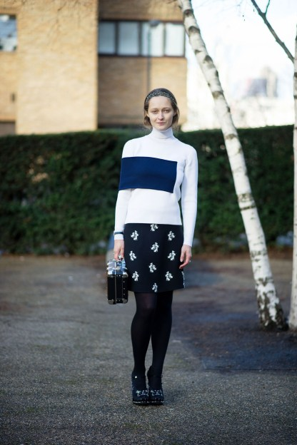 Best of London Fashion Week Streetstyle37