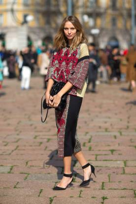 Best of Milan Fashion Week FW014 Street Style46