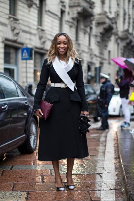 Milan Fashionweek FW 2014, day1, Shiona Turini, Dior coat