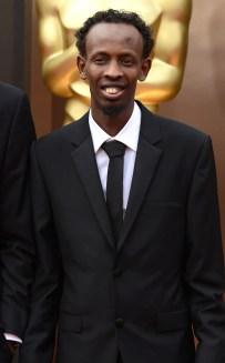 Barkhad Abdi in Calvin Klein
