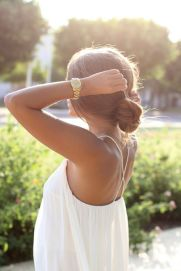 gold watch summer