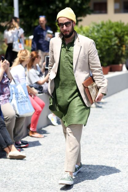 Men's Fashion Week Street Style 44