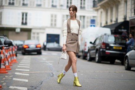 Paris Couture Fashion Week Fall 2014 street style 27
