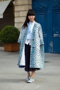 Paris Couture Fashion Week Fall 2014 street style 28