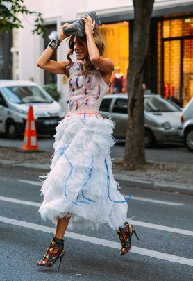 Paris Couture Fashion Week Fall 2014 street style 5