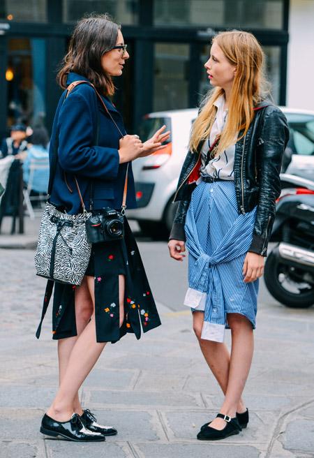 Paris Couture Fashion Week Fall 2014 street style 6
