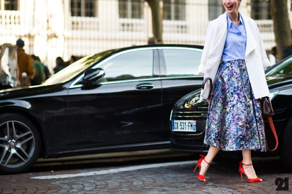 Paris Couture Fashion Week Fall 2014 street style