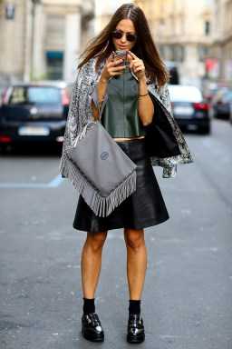 Best of Milan Fashion Week SS2015 Street Style 56