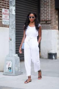 NYFW Streetstyle All White 3