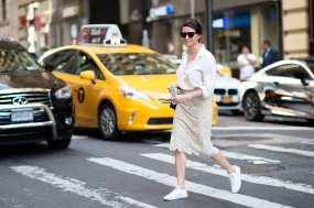 NYFW Streetstyle All White garance dore