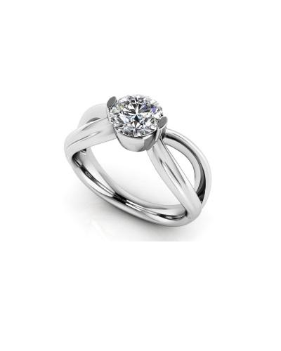 Anjolee Endless Love Diamond Engagement Ring