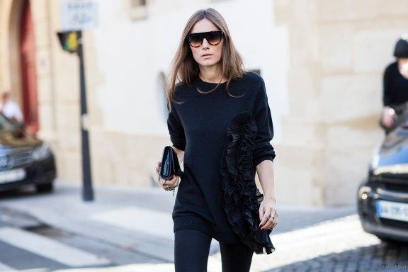 PAris Fashionweek ss2015 day 4, outside Haider Ackermann, giulia tordini