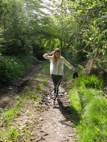 Embellished Leggings and Forest Greenery