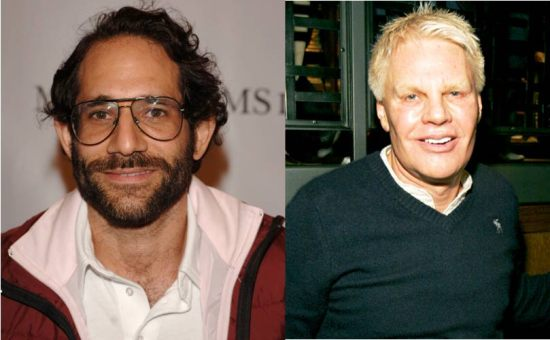 Dov Charney on the left and Mike Jeffries on the right.