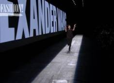 Alexander Wang's triumphant run down the runway in celebration of a decade in business.
