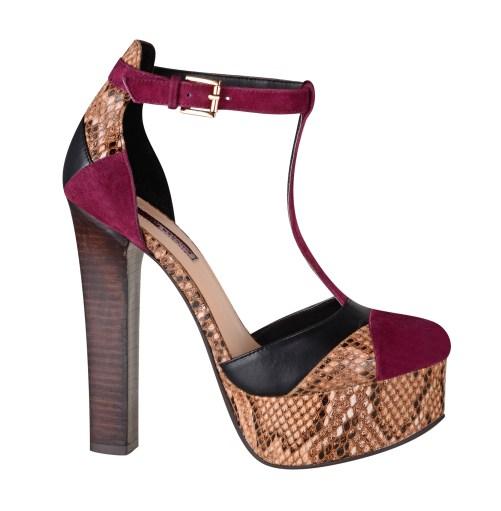 Dorothy Perkins snake print sandals, £35