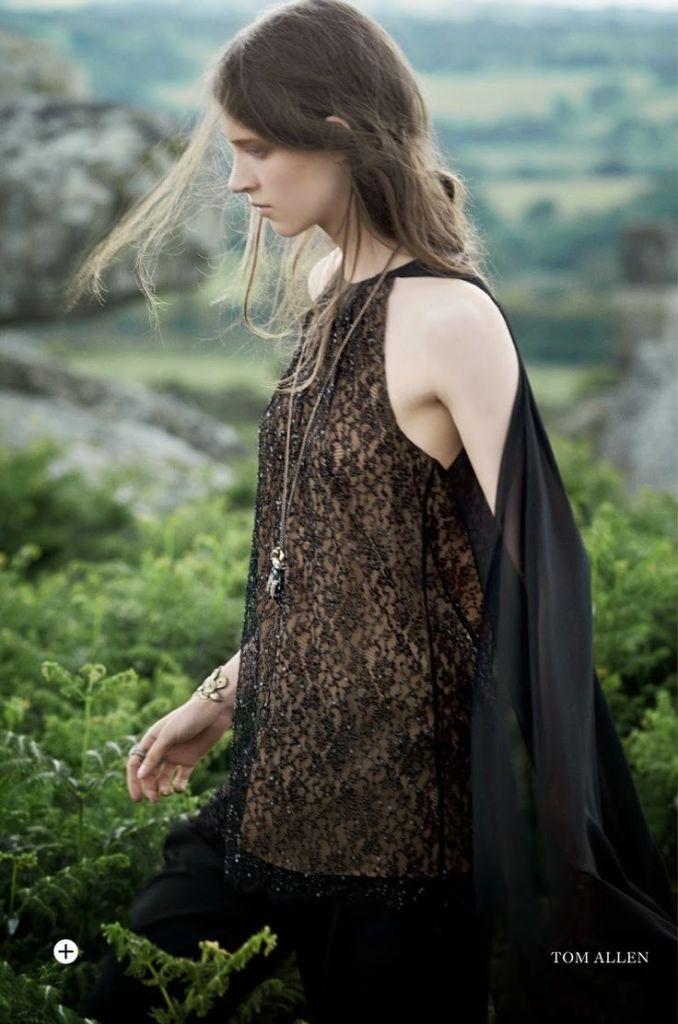 Harper's Bazaar UK September 2014 Wild Beauty 16