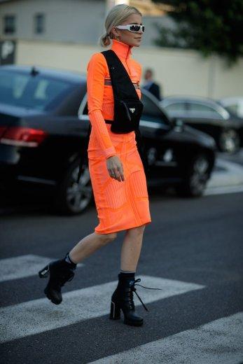 prada-street-style-Neon-and-Nylon-for-Days-at-Prada's-SS19-Show-3