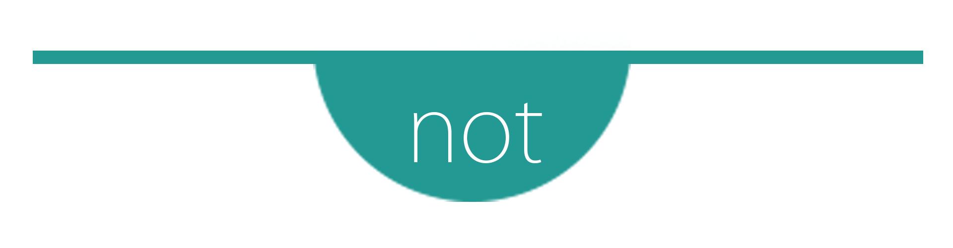 Not-banner