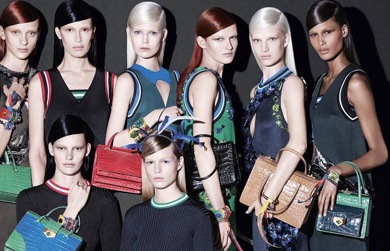 Prada S/S 2014 Campaign by Steven Meisel