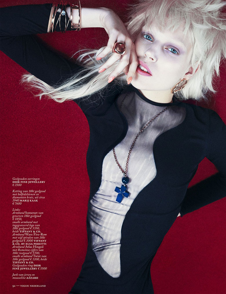 Boe Marion for Vogue Netherlands March 2014 - Fabulous Jewels