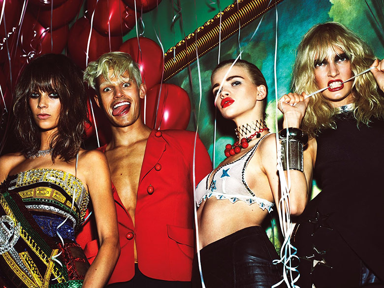 Photo 'La Secret Party' by Mert & Marcus for W Magazine September 2015