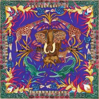 Hermès' new scarves by coveted South African artists', Ardmore