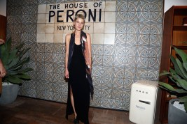 NEW YORK, NY: Kris Gottschalk attends The House of Peroni Opening Night hosted by Francesco Carrozzini in New York City. (Photo by Sylvain Gaboury/Patrick McMullan via Getty Images)