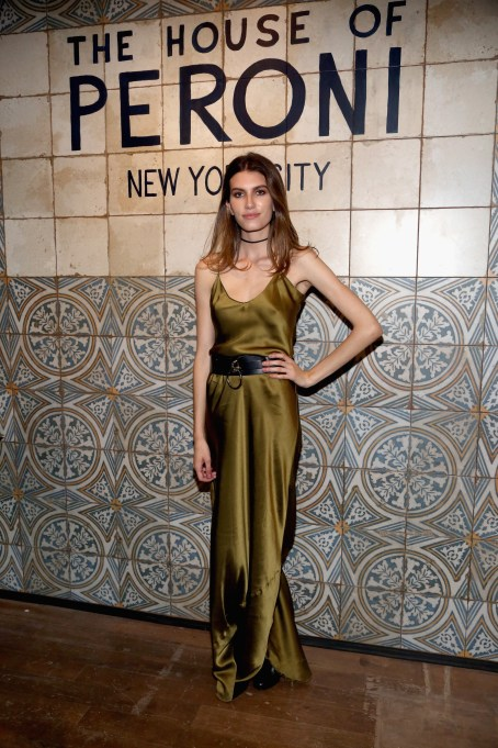 NEW YORK, NY: Rose Gilroy attends The House of Peroni Opening Night hosted by Francesco Carrozzini in New York City. (Photo by Sylvain Gaboury/Patrick McMullan via Getty Images)
