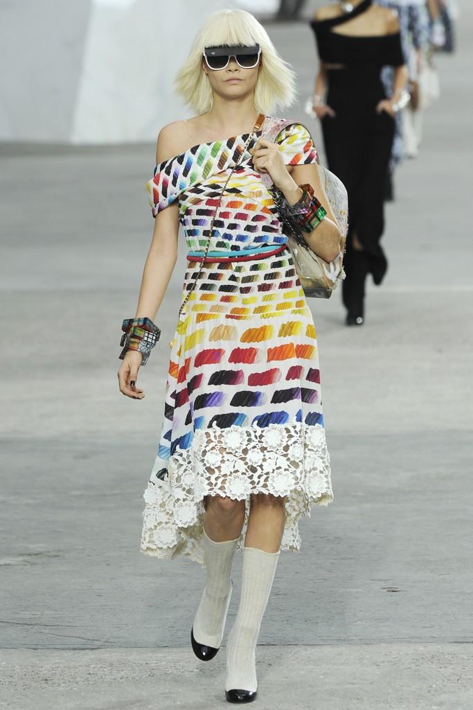 Fashion: Ready to Wear, Chanel, Fall/Winter 2013, Paris