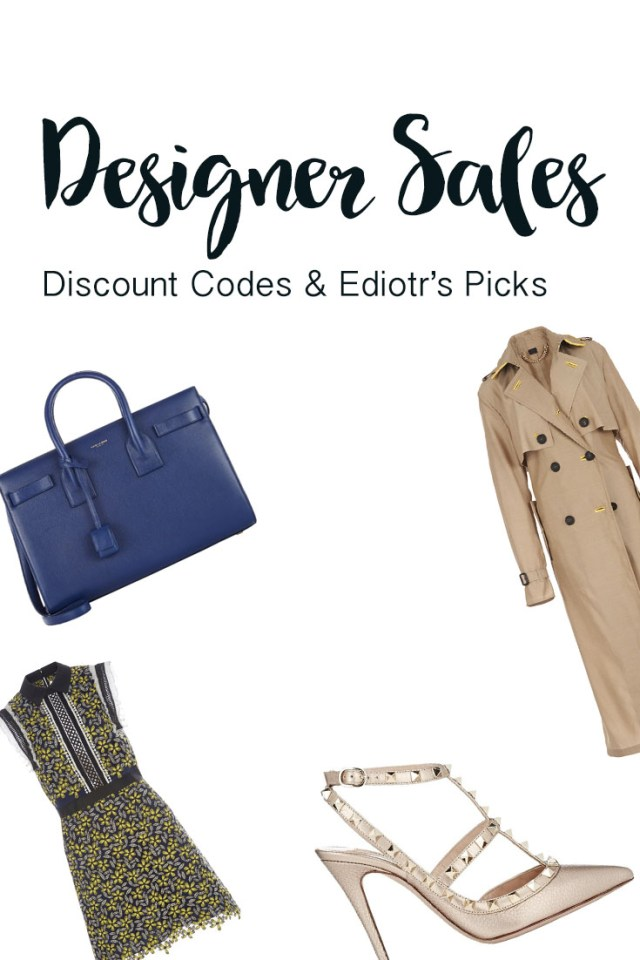 Barneys New York, Moda Operandi, and Shopbob sales and discount codes