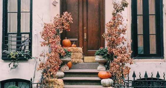 Fall porch in NYC