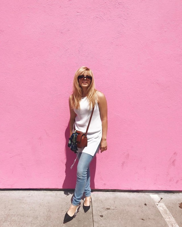 Fashion To Follow Pink Wall L.A. Travel Guide Year in Review