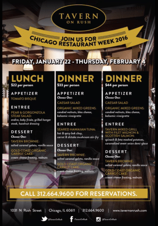 chicago restaurant menu 3