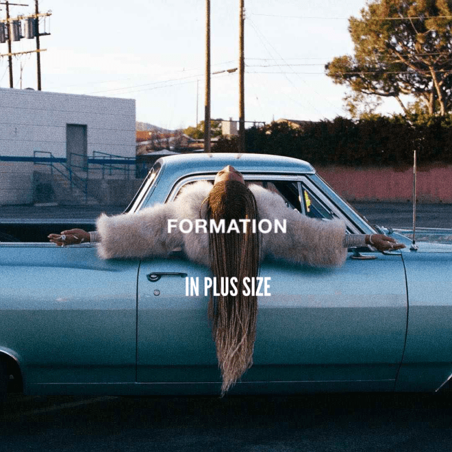 Formation in plus size