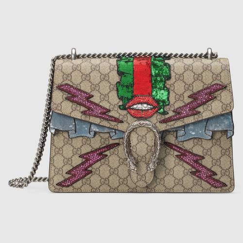 wednesday wishlist Dionysus GG Supreme embroidered bag