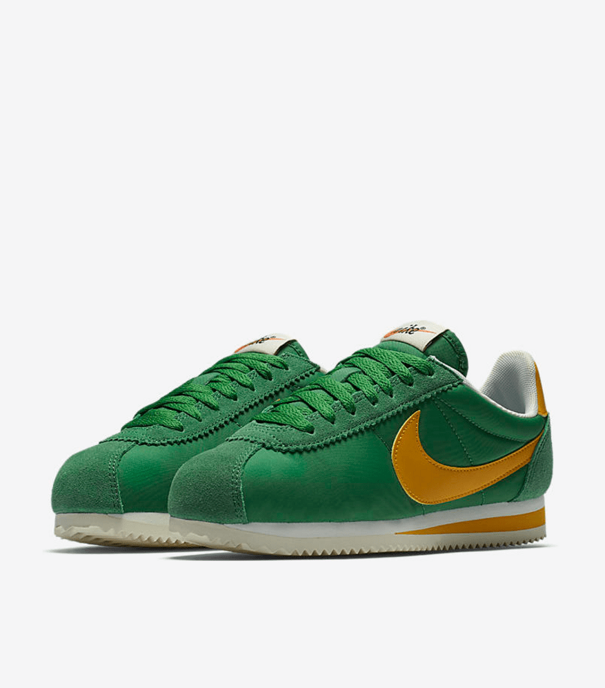 nike green and yellow