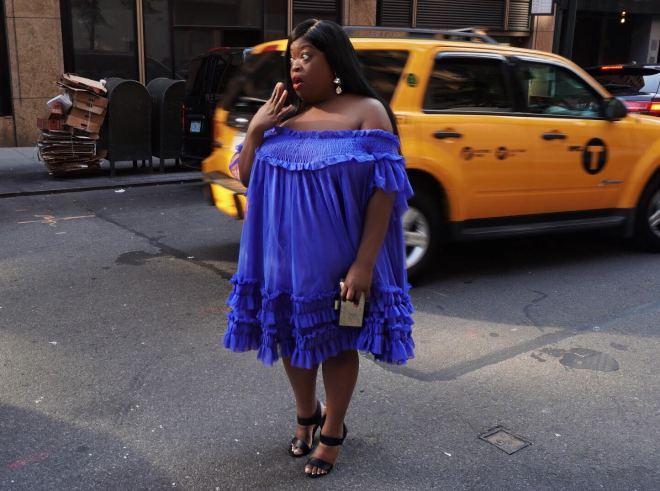 ASOS Blue Dress.
