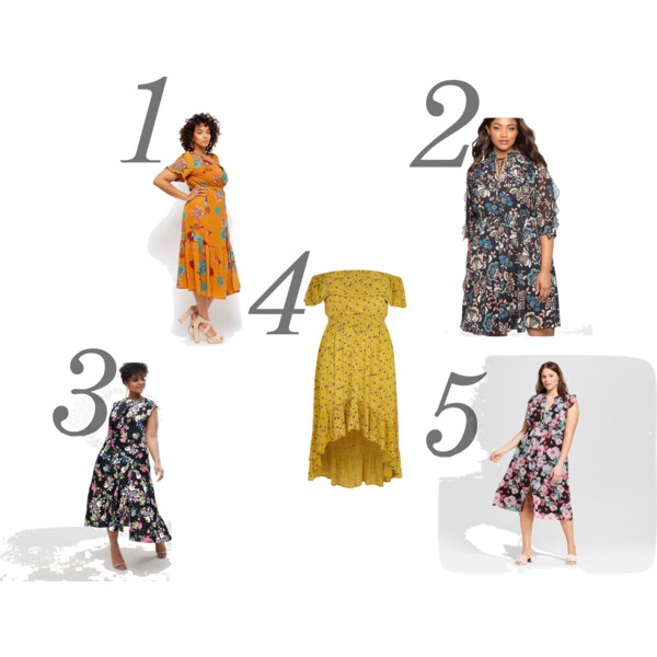 plus size dresses for spring fashion look