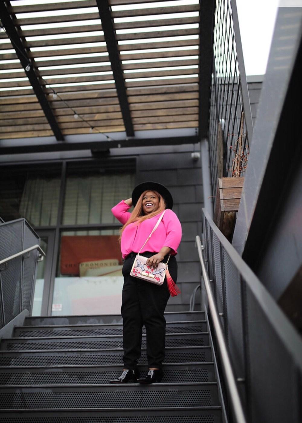 TALBOTS, PETITE PLUS, plus petite clothing, pink top