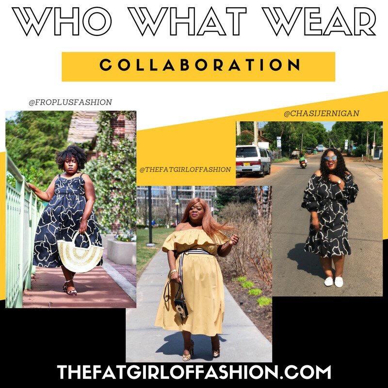 plus size fashion Shoulder Ruffle Midi Dress - Who What Wear Tan - plus size - rivers island - sam eldman - plus size blogger - fro plus fashion - chasi jernigan