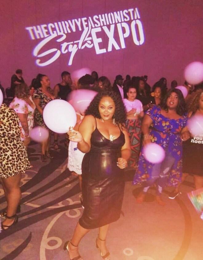 TCF Style Expo, TCF Expo, thecurvyfashionista, mariedenee
