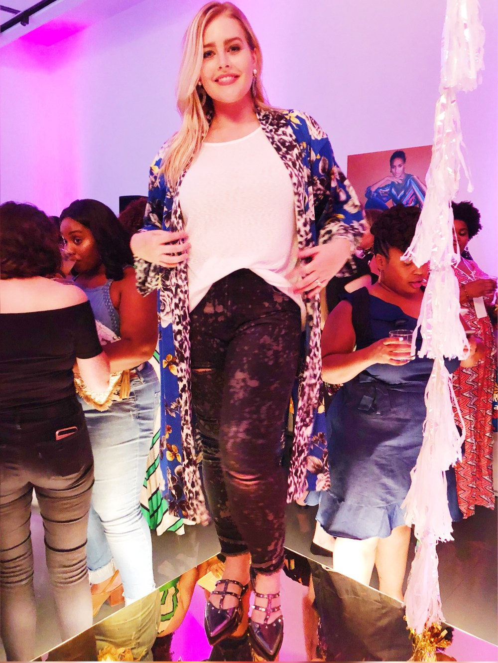 Rachel Roy, theCURVYcon, Macy's plus size, platinum party, plus size event